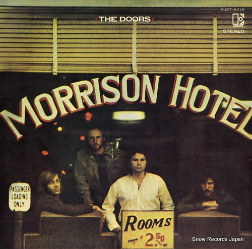 DOORS, THE morrison hotel SJET-8218 - front cover