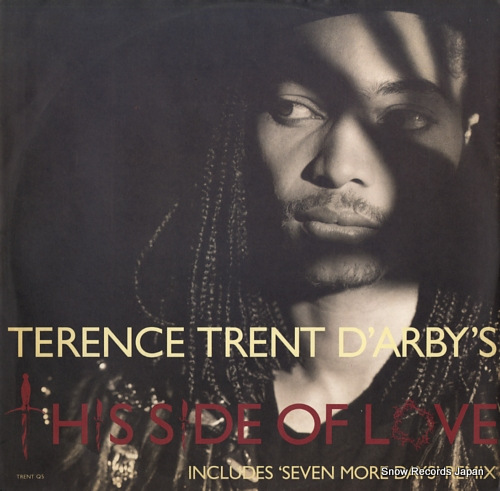 D'ARBY, TERENCE TRENT this side of love TRENTQ5 - front cover