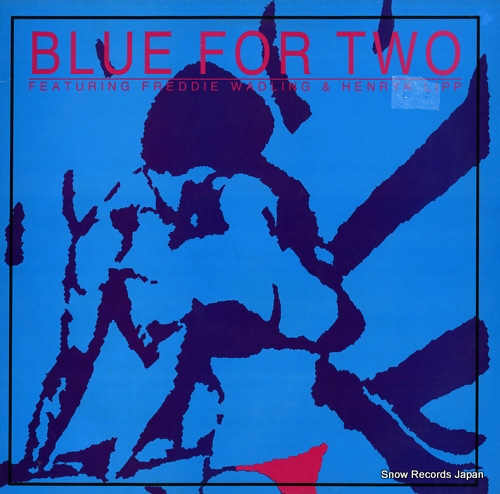 BLUE FOR TWO blue for two CALCLP8 - front cover