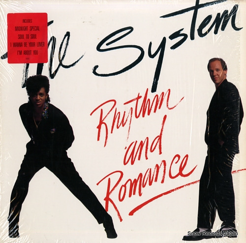 SYSTEM, THE rhythm and romance 81896-1 - front cover