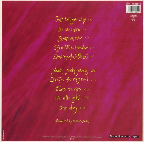 SABINE SABINE cookies for my soul 4660011 - back cover