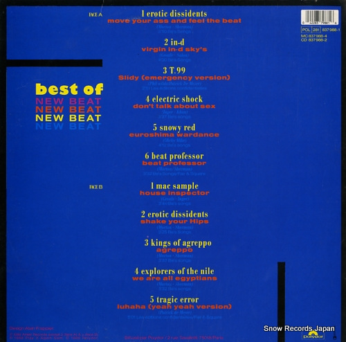 V/A best of new beat 837988-1 - back cover