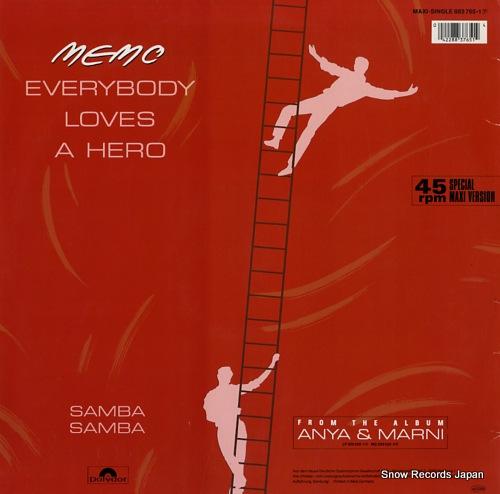 MEMO everybody loves a hero / samba samba 883765-1 - back cover