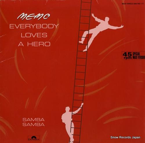 MEMO everybody loves a hero / samba samba 883765-1 - front cover