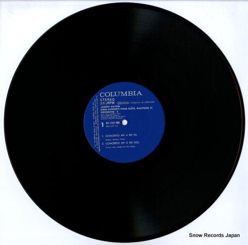 RAMPAL, JEAN-PIERRE haydn; cinq concerti pour flute, hautbois et orchestre-2 RE-1507-MU - disc