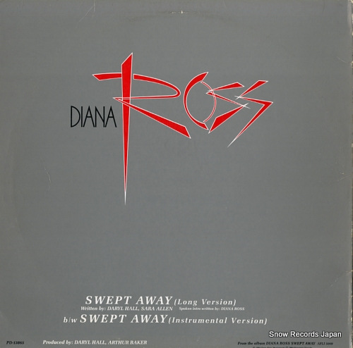 ROSS, DIANA swept away PD-13865 - back cover