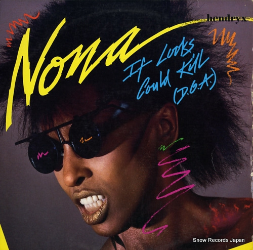 HENDRYX, NONA if looks could kill(d.o.a.) PW-14169 - front cover