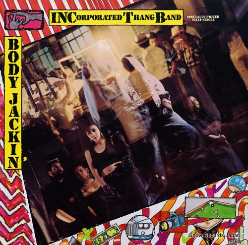 INCORPORATED THANG BAND body jackin' 0-20709 - front cover