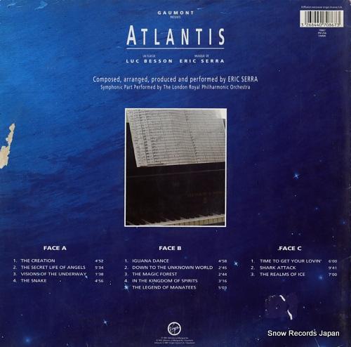 SERRA, ERIC atlantis 70867 - back cover