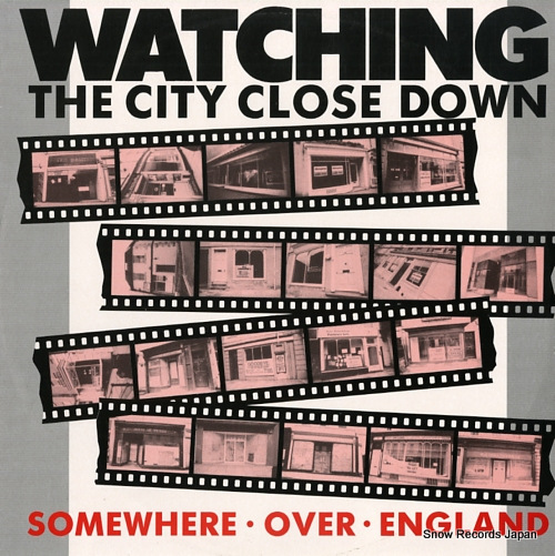 SOMEWHERE OVER ENGLAND watching the city close down 12MRIL004 - front cover