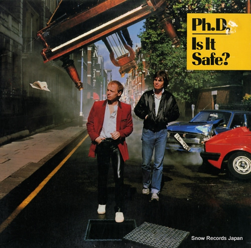 PH.D. is it safe? 780050-1/80050-1 - front cover