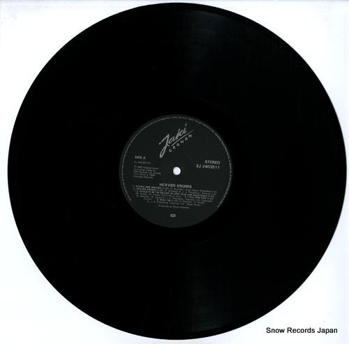 GRAHAM, JAKI heaven knows EJ2403511 - disc