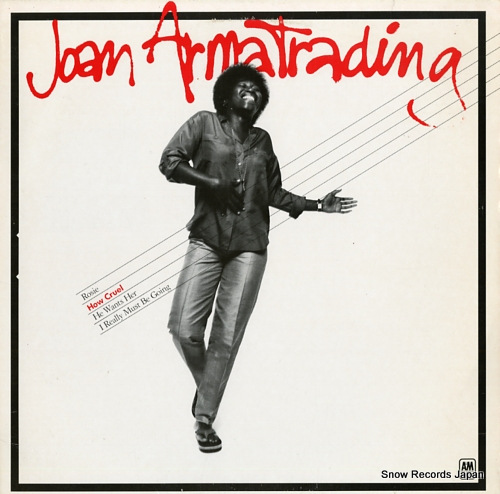 ARMATRADING, JOAN how cruel SP3302 - front cover