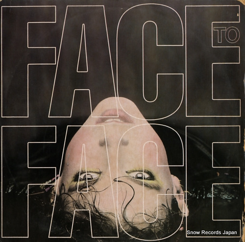 FACE TO FACE face to face BFE38857 - front cover
