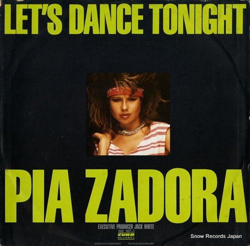 ZADORA, PIA let's dance tonight / substitute 880567-1 - back cover