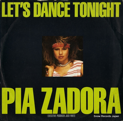 ZADORA, PIA let's dance tonight / substitute 880567-1 - front cover