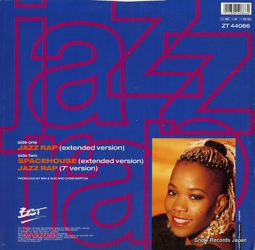 CARNEGIE, KIM jazz rap ZT44086 - back cover
