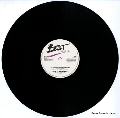 CARNEGIE, KIM jazz rap ZT44086 - disc