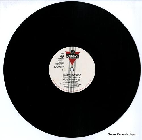 MEDEIROS, GLENN all i'm missing is you (u.s. extended remix) LONXR275 - disc