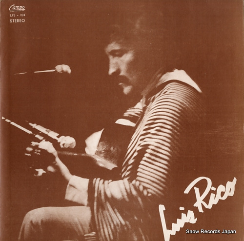 RICO, LUIS luis rico LPS-024 - front cover