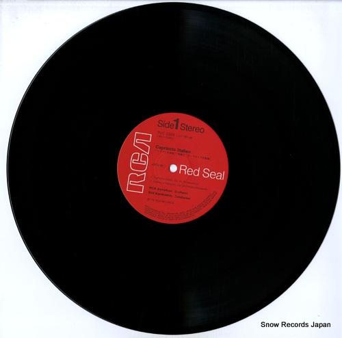 KONDRASHIN, KYRIL tchaikovsky; capriccio italien RVC-2089 - disc