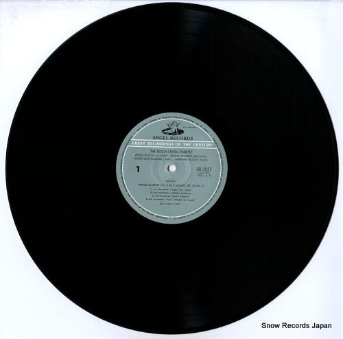 BUSCH STRING QUARTET, THE brahms; string quartet no.2 in a minor GR-2237 - disc