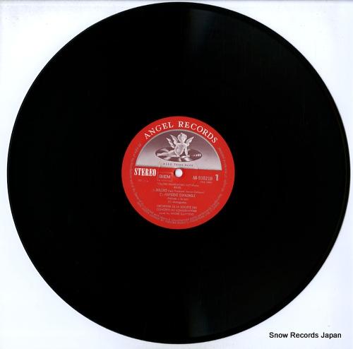 CLUYTENS, ANDRE ravel; bolero AA-93021B - disc