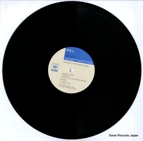 CASADESUS, ROBERT the complete piano music of ravel vol.1 SOCU50 - disc
