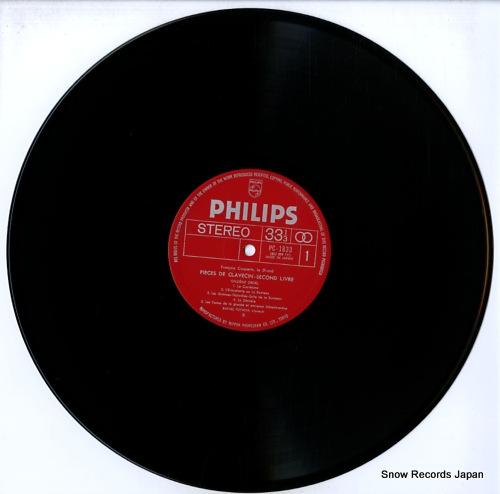 PUYANA, RAFAEL couperin; pieces de clavecin ordres nos. 8, 11, 13, 15 PC-1833-34 - disc