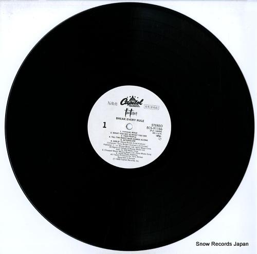 TURNER, TINA break every rule ECS-91186 - disc