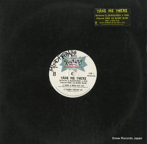 BLACKSTREET take me there INT8P-6495 - front cover