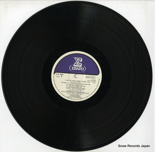 RAMPAL, JEAN-PIERRE l'art de jean-piere rampal E-1/EFM18000 - disc