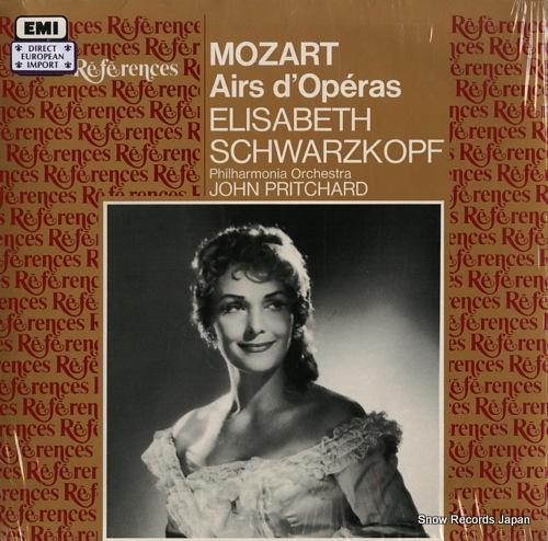 SCHWARZKOPF, ELISABETH mozart; airs d'operas 1432221 - front cover