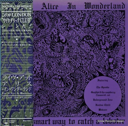 V/A live at alive in wonderland 28AP3268 - front cover