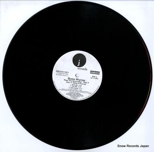 RHYMES, BUSTA pass the courvoisier part ii 80813-21154-1 - disc