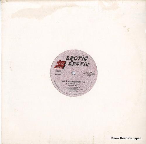 EROTIC EXOTIC l.o.v.e. J.B.5010 - front cover