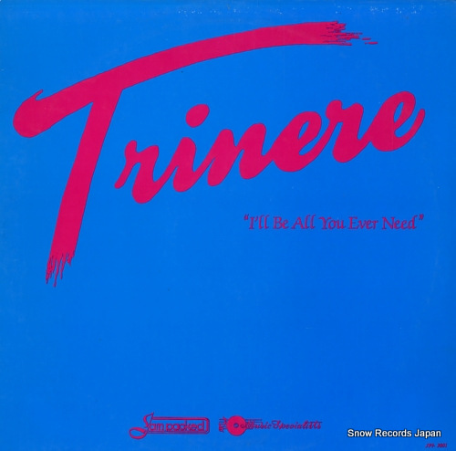 TRINERE i'll be all you ever need JPI-2001 - front cover
