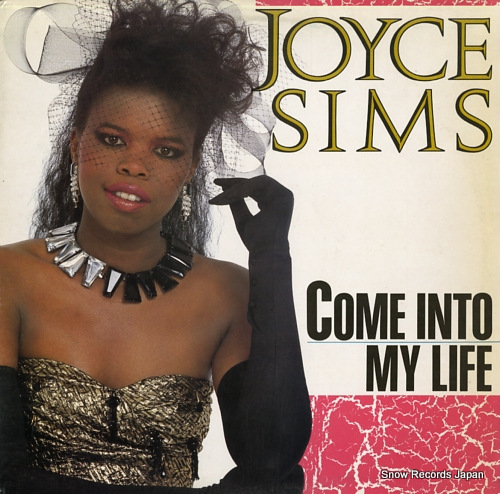 SIMS, JOYCE come into my life TLX10 - front cover