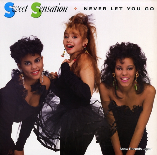 SWEET SENSATION never let you go 0-96636 - front cover