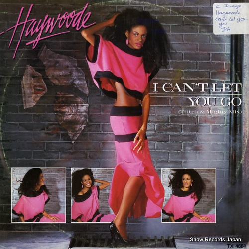 HAYWOODE i can't let you go TX4664 - front cover