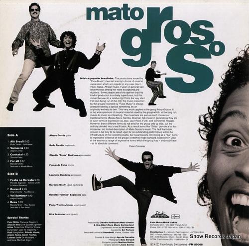 MATO GROSSO brasileiro FM50005 - back cover