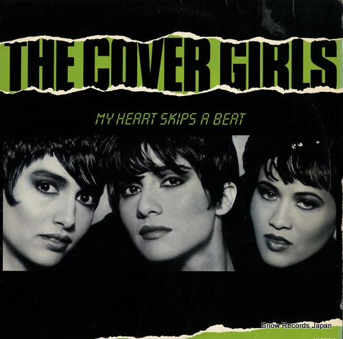 COVER GIRLS, THE my heart skips a beat V-15498 - front cover