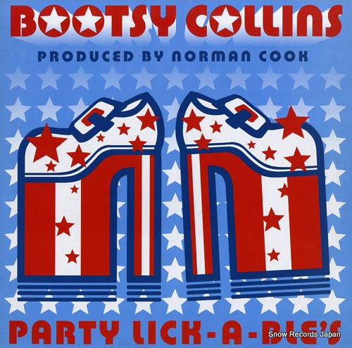 COLLINS, BOOTSY party lick-a-ble's 398426457-0 - front cover