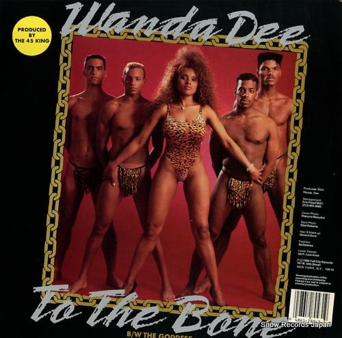 DEE, WANDA the goddess / to the bone TUF128043 - back cover