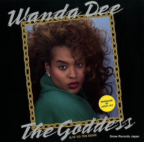 DEE, WANDA the goddess / to the bone TUF128043 - front cover