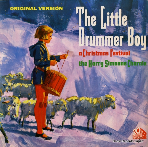 ハリー・シミオン the little drummer boy / a christmas festival S3100