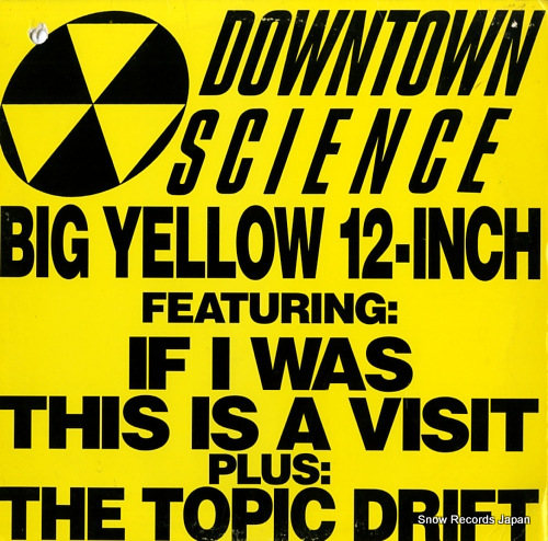 DOWNTOWN SCIENCE big yellow 12-inch 4474052 - front cover