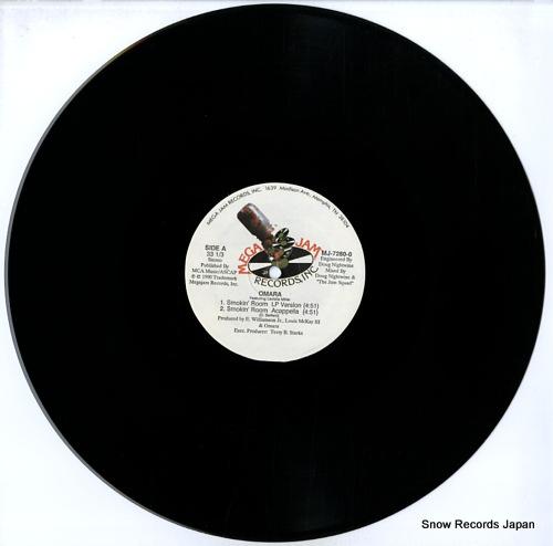 OMARA smokin' room MJ-7280-0 - disc