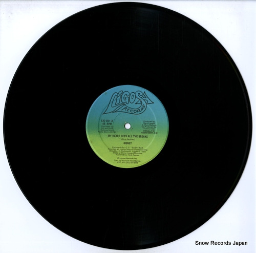 MONET my heart gets all the breaks LIG-501 - disc