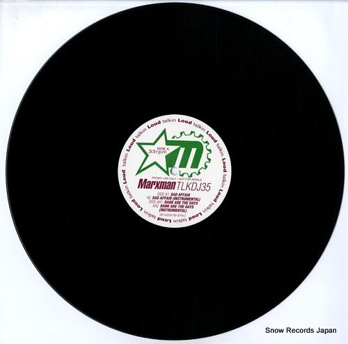 MARXMAN sad affair / dark are the days TLKDJ35 - disc